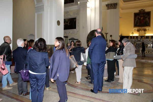 La visita guidata nel museo diocesano Tarantini-2