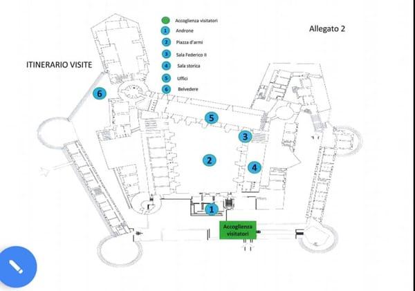 Itinerario visite guidate al castello Svevo-2