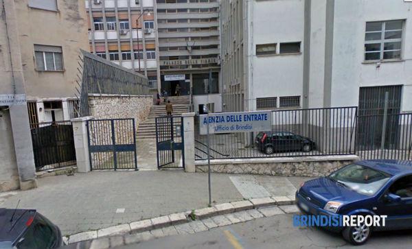 La sede dell'Agenzia delle Entrate di Brindisi