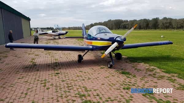 Aviosuperfice Esperti, campo di volo Cellino San Marco 3-3