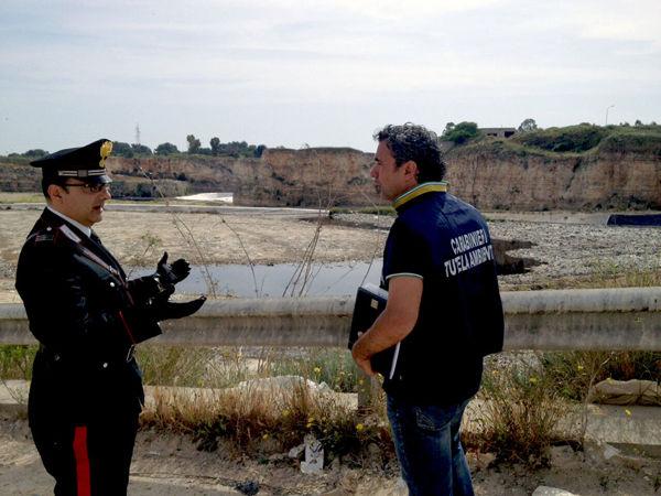 Il sequestro della discarica di Autigno-2