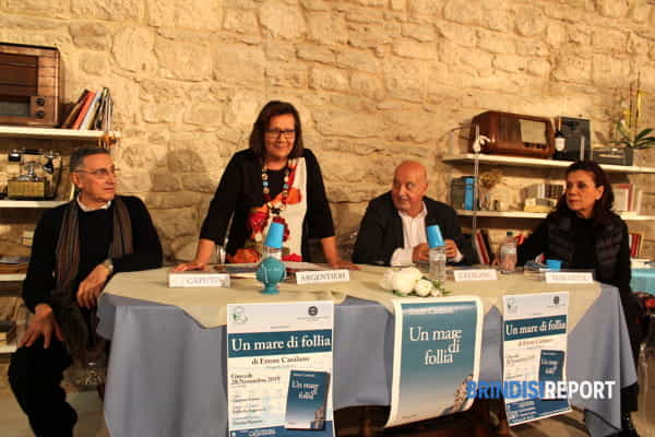 Da sinistra, Antonio Caputo, Raffaella Argentieri, Ettore Catalano e Daniela Marazita.-2