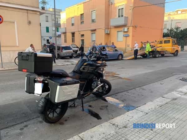 Incidente via Umbria-via Sicilia 4-2