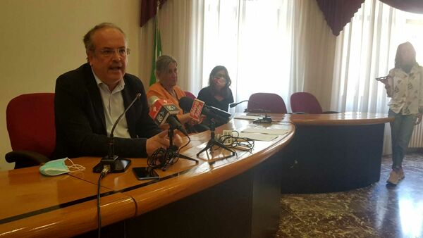 Conferenza stampa pontile briccole 3-2