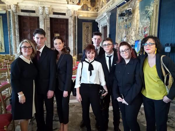 Liceo Simone Durano premiato a Roma (4)-2