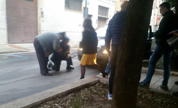 incidente via di castri Francavilla1-2