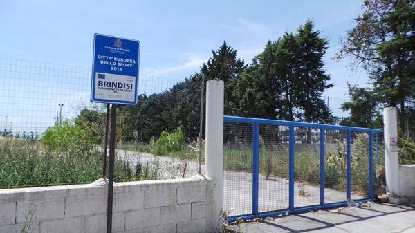 L'ingresso dell'impianto ex Acsi di via Pellizza da Volpedo-2