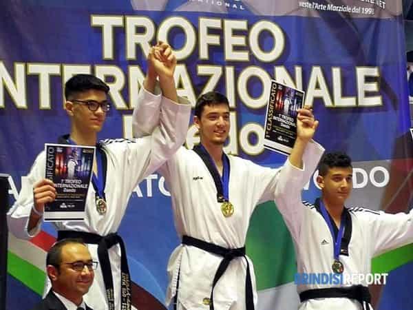 Mattia Martina medaglio d'oro al torneo Daedo-2