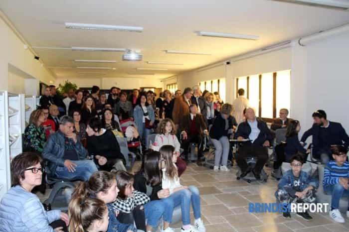 Il pubblico dell'inaugurazione-2
