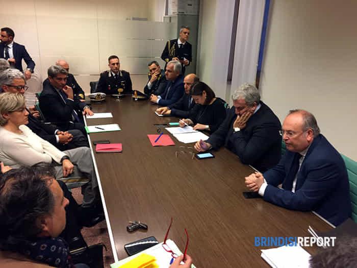 L'incontro della ministra Paola De Micheli con autorità ed operatori portuali a Brindisi-2