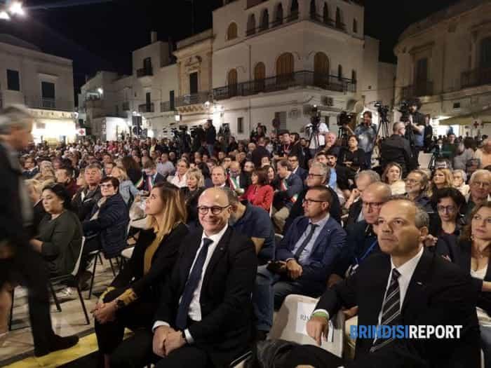 Giuseppe Conte al San Raffaele di Ceglie Messapica 3-2