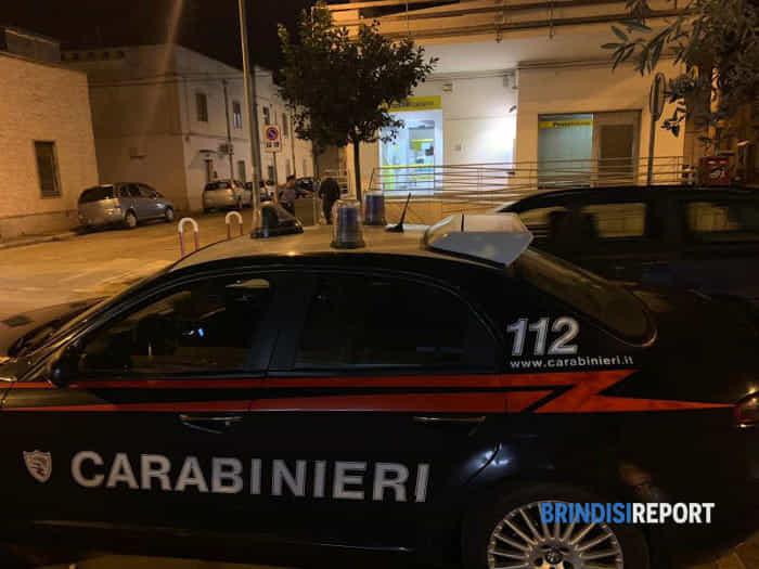 Rapina poste viale Commenda a Brindisi-2