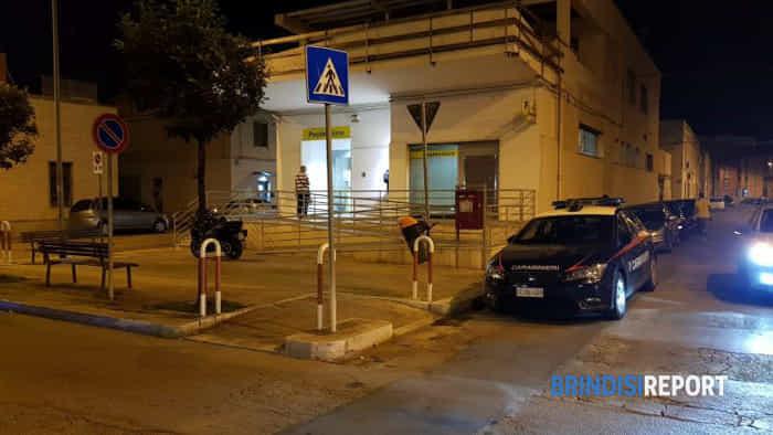 Rapina poste viale Commenda a Brindisi 3-2