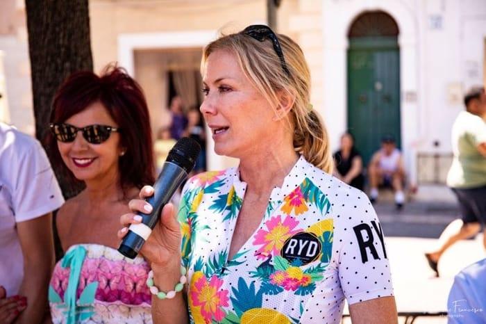 Katherine Kelly Lang alla Puglia KKL Granfondo di Fasano (1)-2