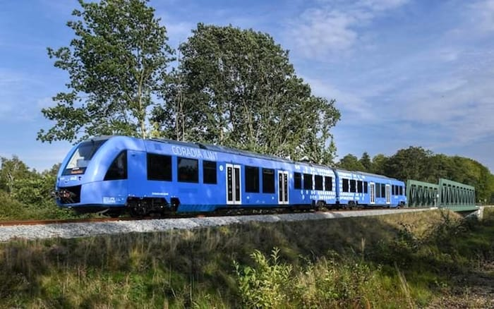 un treno a idrogeno in Germania-2