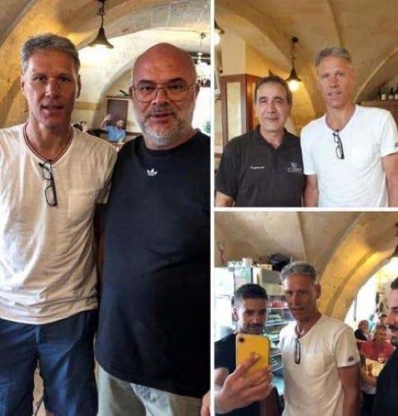 Van Basten a pranzo alla Nassa, a Brindisi-2