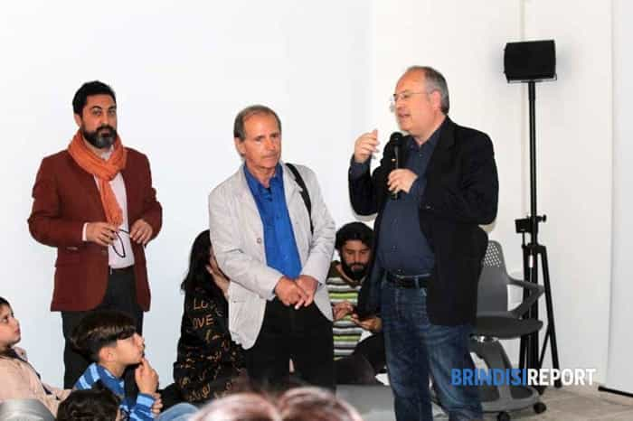 Da sinistra, Giuseppe Marella, Giacomo Carito e Riccardo Rossi-2