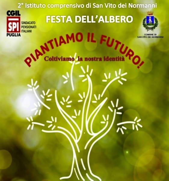 Locandina Festa dell'Albero II Istituto comprensivo San Vito dei Normanni-2