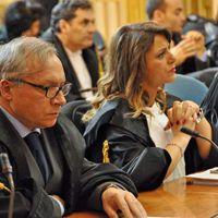Gli avvocati Raffaele Missere e Rosanna Saracino