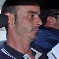 Antonio Campana tra gli agenti