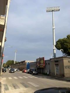 Torri faro stadio Francavilla Fontana 3-2