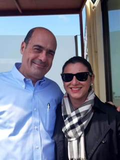 Nicola Zingaretti e Rosanna Saracino-2