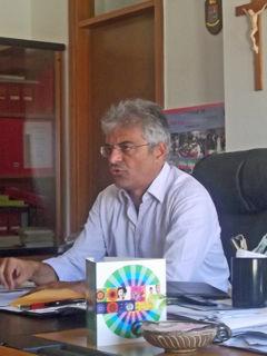 Il sindaco Pasquale Rizzo